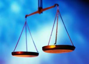 Weights of justice