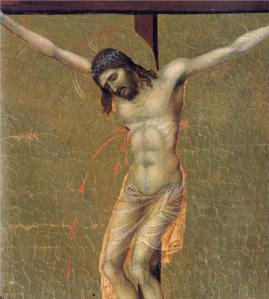 The Crucifixion - Duccio di Buoninsegna